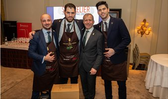 Sommelier_contest_2019_3_finalists_with_Andreas_Matthidis