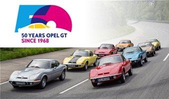 Οδοιπορικό-γιορτή για τα 50 χρόνια των μοντέλων Opel GT