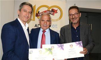 Τρεις διακρίσεις στον Οινοποιητικό «Η Δήμητρα» στα Wine Olymp Awards