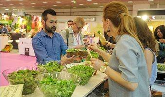 Baby σαλάτες με μουσταρδόφυλλα η αποκάλυψη Βεζύρογλου στη Freskon
