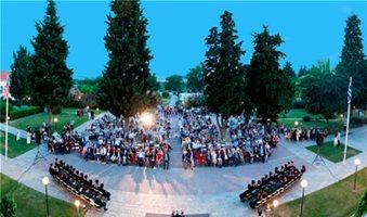 Τελετή αποφοίτησης των σπουδαστών του Perrotis College
