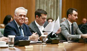 tsipras-dragasakis-xaritsis-ypourgiko