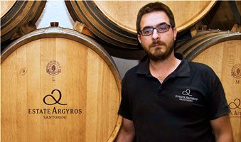 yiannis-and-matthew-argyros-in-the-cellar
