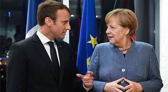 Macron-MerkelAFP