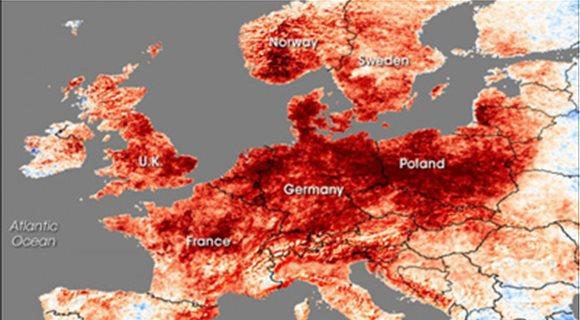 Ο περασμένος Ιούνιος ήταν ο τρίτος θερμότερος στην ιστορία