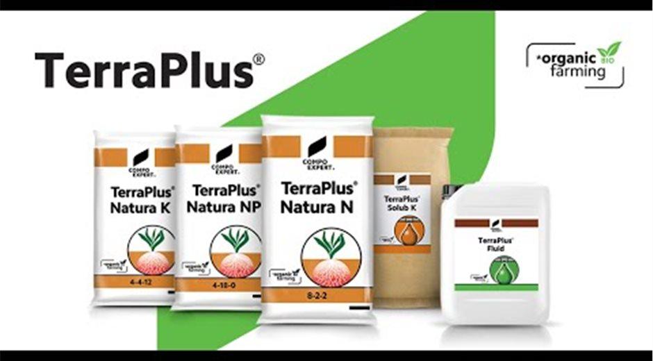 TerraPlus® BIO από την COMPO EXPERT Ελλας για τη Βιολογική Γεωργία (2021)