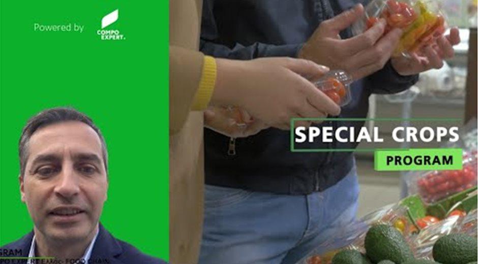 Ο Δημήτρης Δρόλιας για τo Special Crops Program της COMPO EXPERT Ελλάς