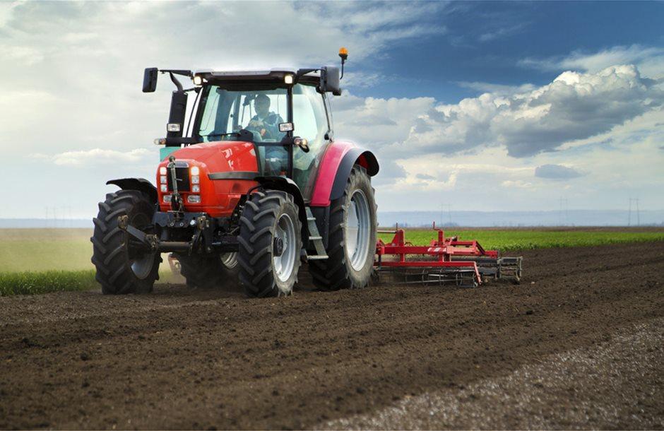 Farmer-in-Tractor