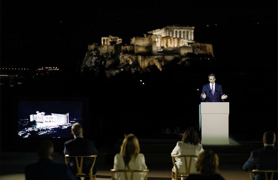 akropoli-neos-fotismos-kiriakos-mitsotakis