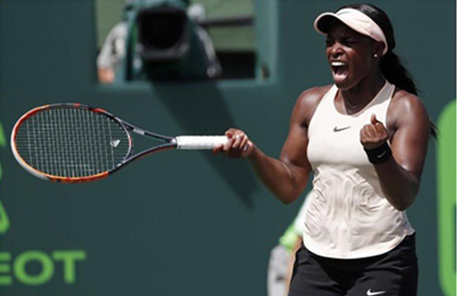 Στον τελικό του Miami Open η τενίστρια Στέφενς