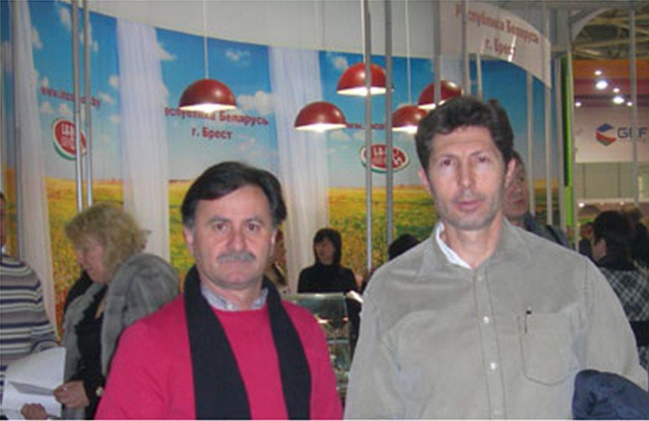 Οι φιστικοπαραγωγοί Μώλου στην έκθεση Prodexpo 2012