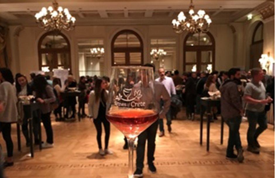 Εντυπωσίασαν τα κρασιά της Κρήτης στην Αθήνα