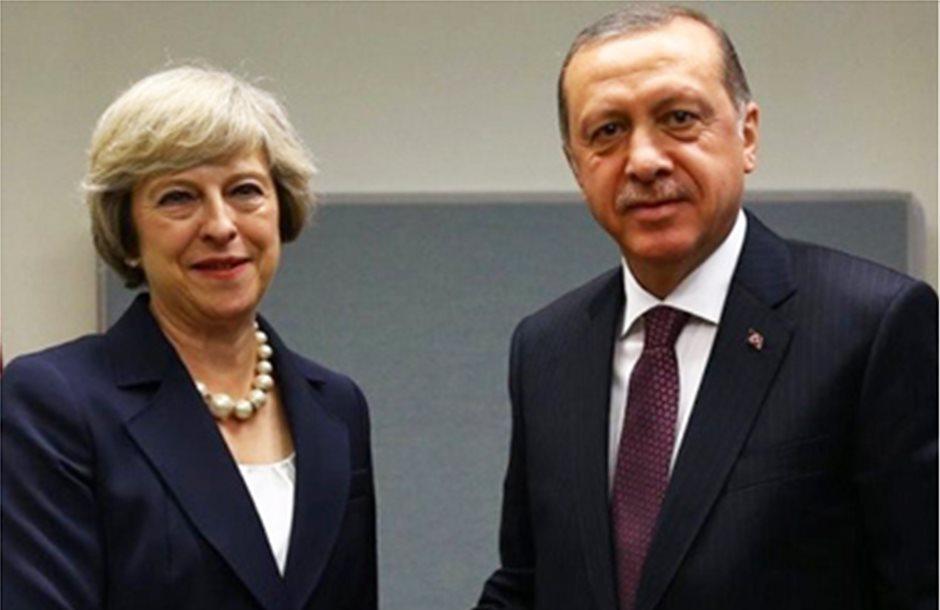 Συνάντηση Ερντογάν - Μέι 15 Μαΐου στη Βρετανία