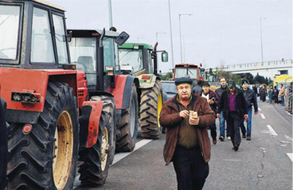 Πορεία κτηνοτρόφων στην Αιτωλοακαρνανία