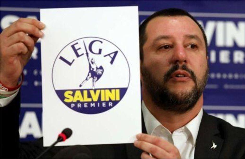 Η Λέγκα πρώτο κόμμα στην Ιταλία, σύμφωνα με δημοσκοπήσεις