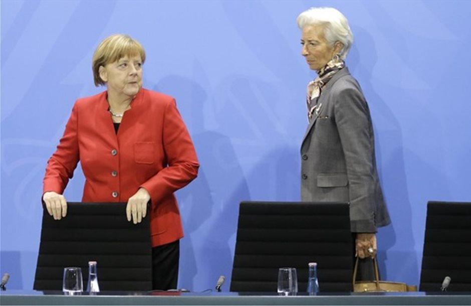 Συνάντηση Μέρκελ - Λαγκάρντ για συμμετοχή του ΔΝΤ στο ελληνικό πρόγραμμα