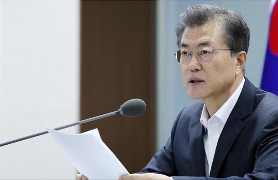 Ν. Κορέα: «Ιστορική» επίσκεψη του προέδρου Μουν στη Ρωσία