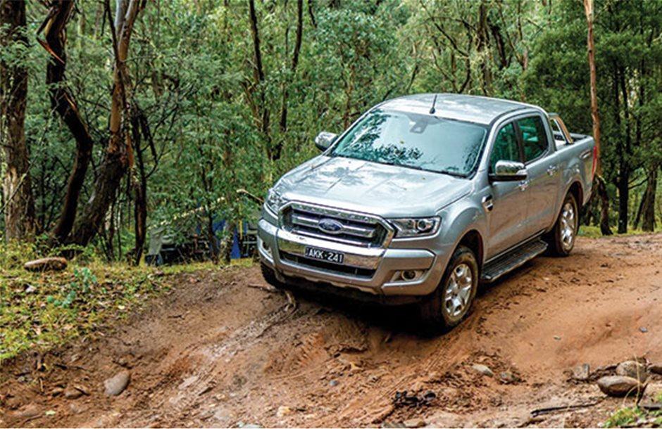 Το pickup Ranger Double XLT της Ford κατασκευάστηκε για πέτρα και λάσπη