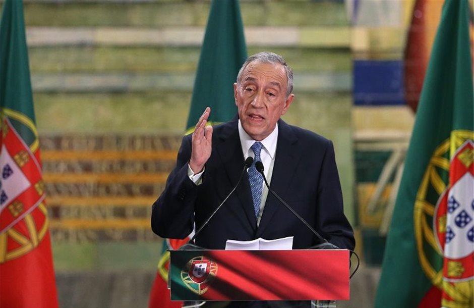 Συνάντηση Τσίπρα με Πρόεδρο Πορτογαλίας