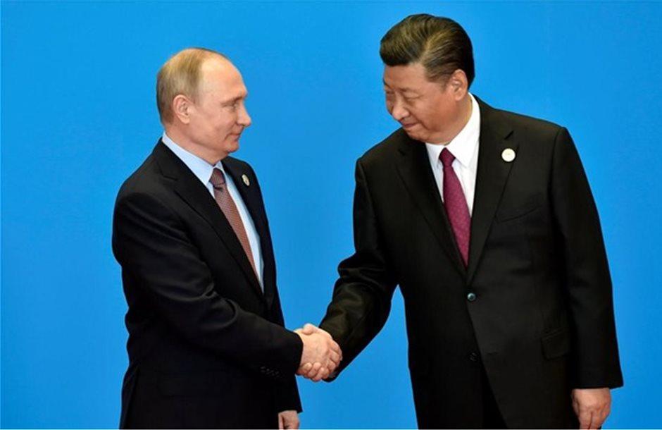 Ρωσία: Η ανάπτυξη εμπορικών διαδρόμων στις συνομιλίες Πούτιν-Σι
