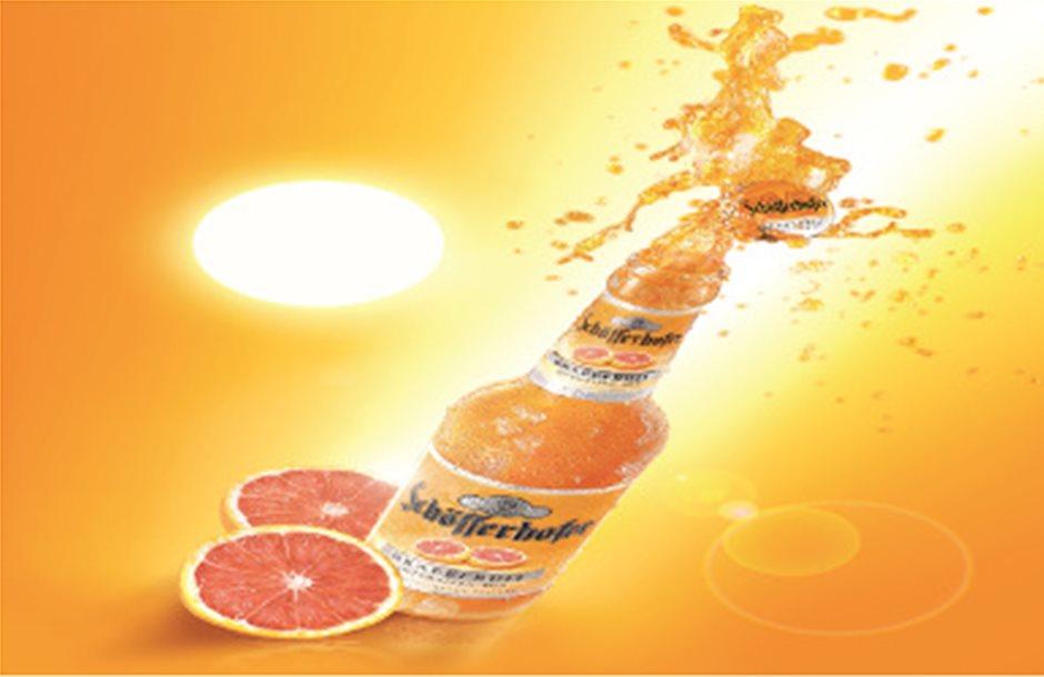 Γκρέιπφρουτ και μπύρα συνδυάζει η Schöfferhofer Grapefruit