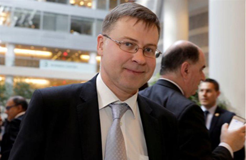 Ντομπρόβσκις: Μέχρι το Ιούνιο η συμφωνία για το ελληνικό χρέος