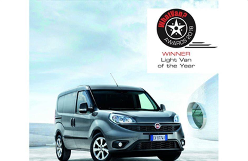«Light Van of the Year» το Fiat Professional Doblο Cargo