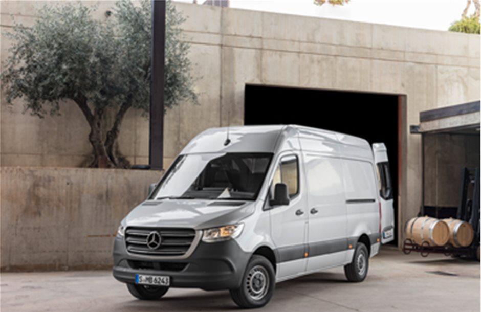 Τρίτη γενιά του Sprinter από τη Mercedes-Benz