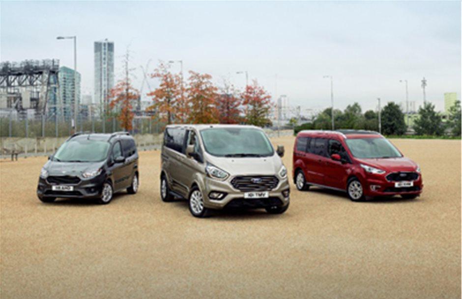 Ντεμπούτο στις Βρυξέλλες για τη νέα σειρά οχημάτων Ford Tourneo