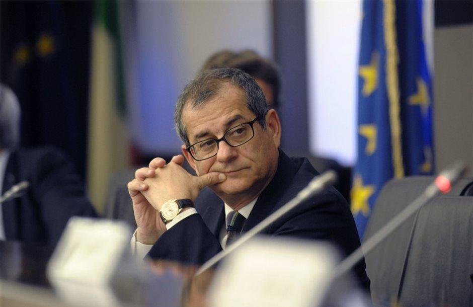 Τζιοβάνι Τρία: Δεν είναι στις προθέσεις μας να εγκαταλείψουμε το ευρώ