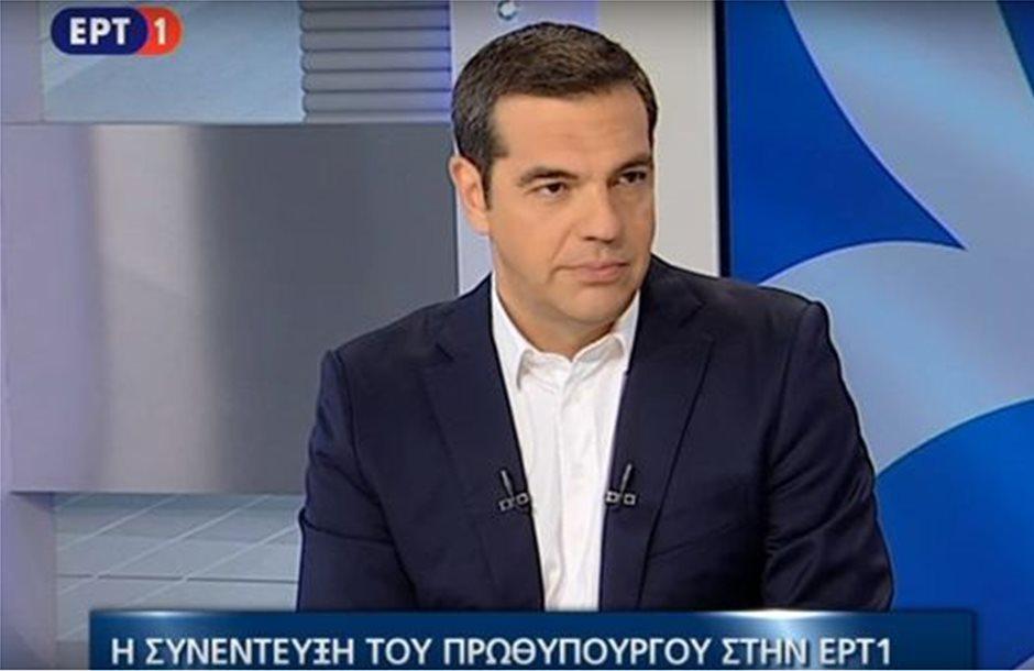 «Ας μου κάνουν πρόταση μομφής», λέει ο Τσίπρας για ΝΔ περί Μακεδονικού